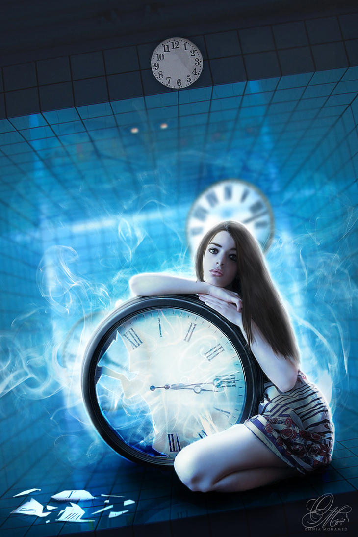 - The Labyrinth of Time - by OmniaMohamedArt