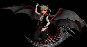 [MMD] Demon Len (OC) Dl~!