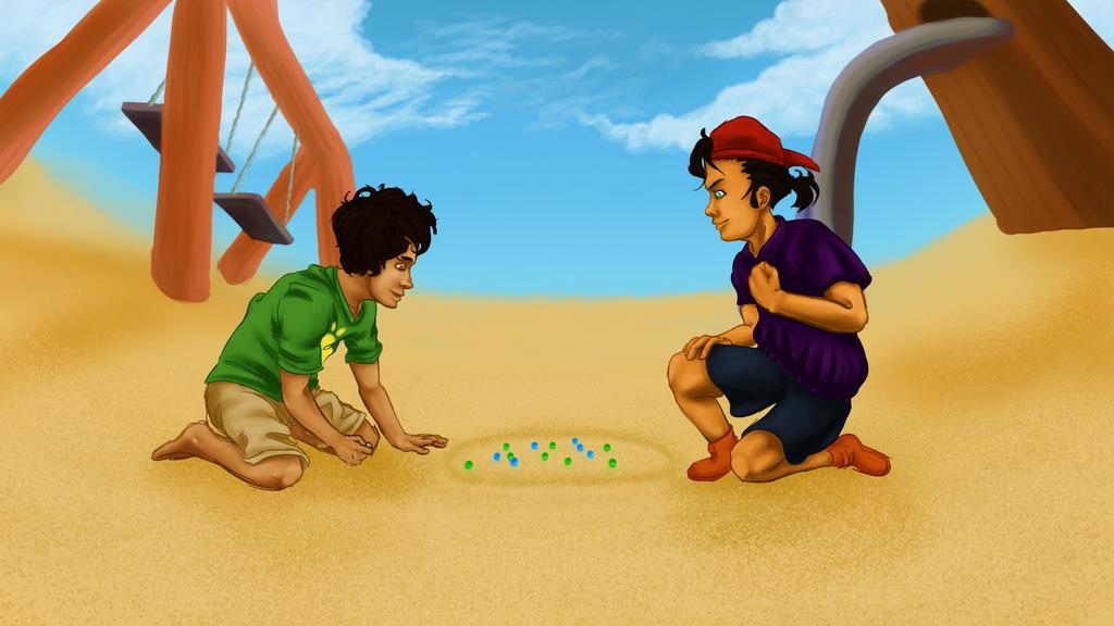 Childhood Games By Fenxus On Deviantart