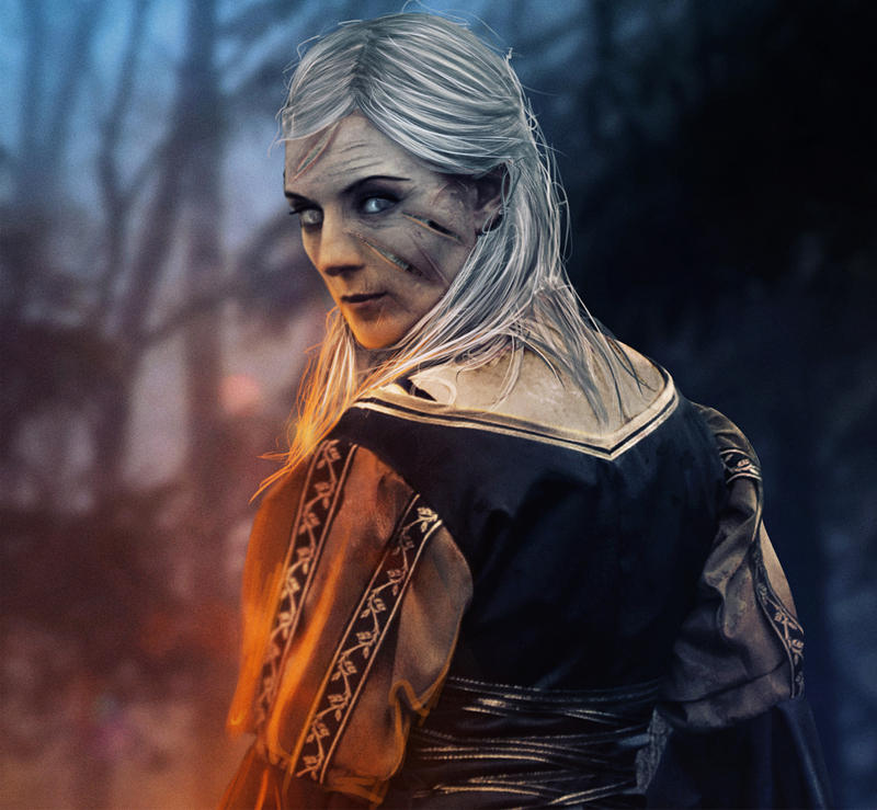 Lady Stoneheart: Details by Doom-Art