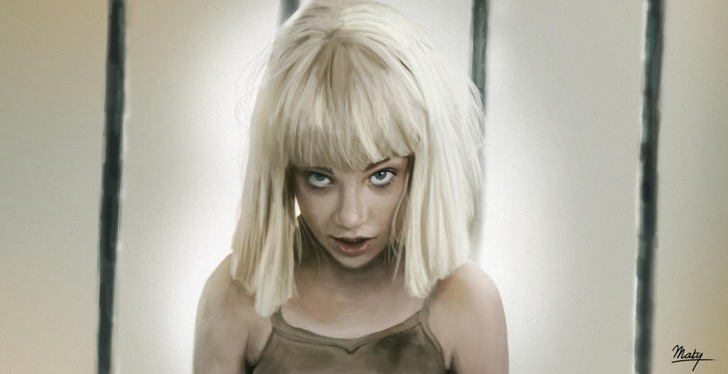 Maddie Ziegler from Elastic Heart by Sia by matystaw on DeviantArt