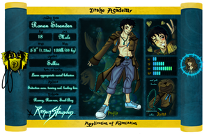 Drake Academy - Ronan Stranden by wk-omittchi