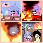 Hatterene the Fire Type