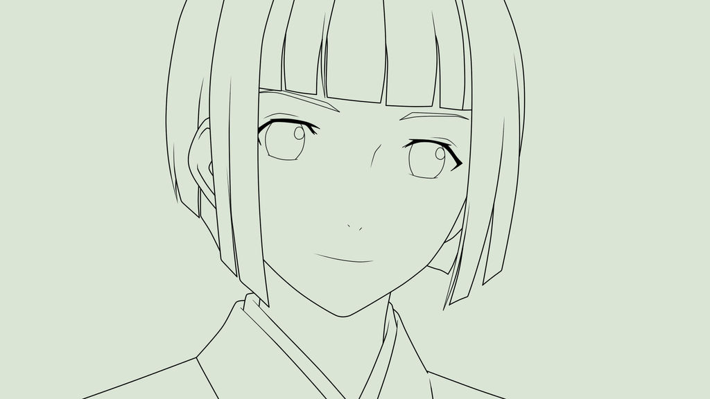 Mayu From Noragami Lineart By Kimiichii On Deviantart