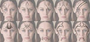 F2U Face tattoo designs