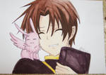 Teito Klein and Mikage (07-Ghost)