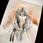 Soo-won: Akatsuki no Yona (Water Color Painting)