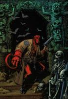 Hellboy, colors work by WhiteV