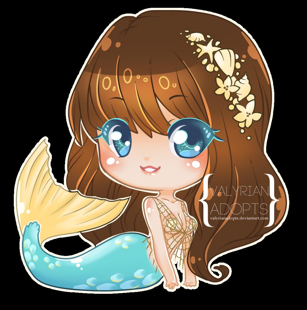 C: Mermaid Ripple Chibi By Valyriana On DeviantArt