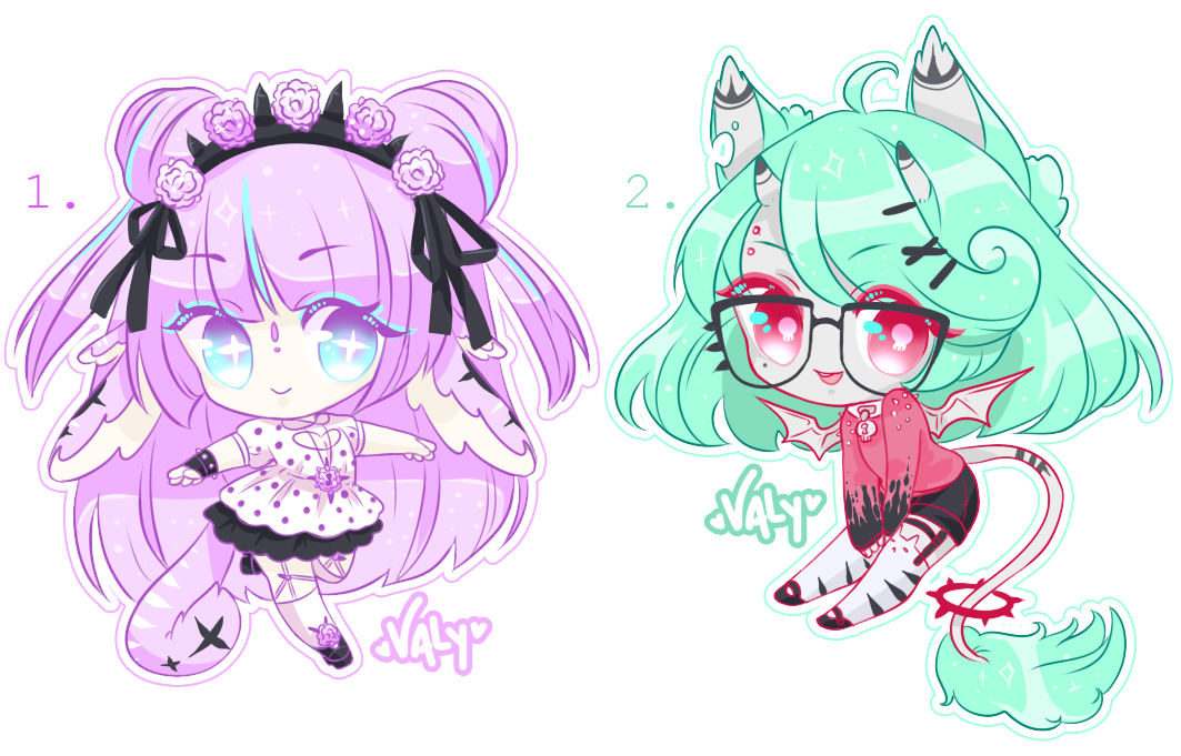 .:CLOSED ADOPTS :. Pastel Goth / Punk Baby Wingus by ...