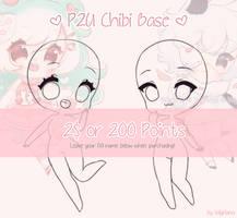 LOWERED PRICE { P2U } Chibi Base by Valyriana