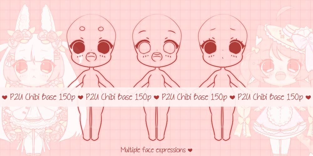 { P2U } Chibi Baby Base