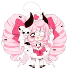 [CLOSED] Non crayon Pink Halloween Adopt!