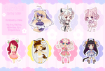 [4 LEFT - OPEN] Heartdoll Spring Collab