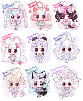 [CLOSED TY!] Mini cutie adopts by Valyriana