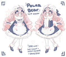 [CLOSED] Polar Bear Adopt by Valyriana