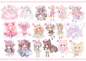 [9 left OPEN] Valentinedolls Adopts by Valyriana