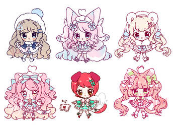 New added - Blob Sketch Gacha babes by Valyriana