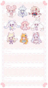 [C] Mini Chibi Commissions 02