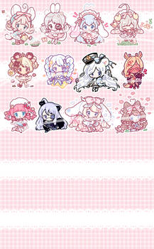 [CLOSED FOR NOW] Silly Bean Commissions