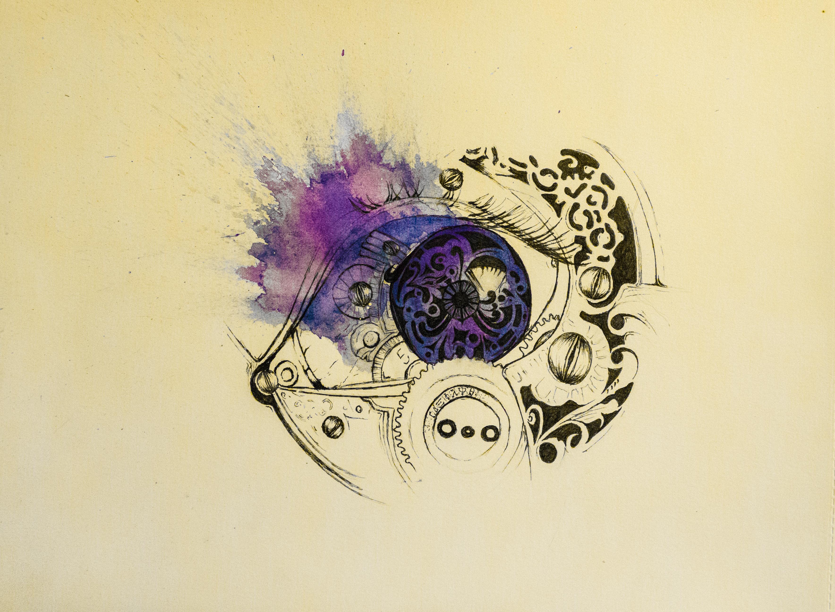 A Mechanical Eye by AlaaAboAbah on DeviantArt