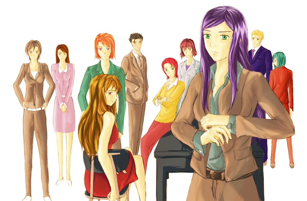 BtoB-MH characters by Imya-o