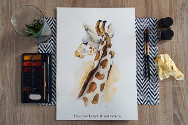 Giraffe by Vegeta3690