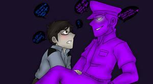 Five Nights at Freddy's    Jeremy x Purple guy