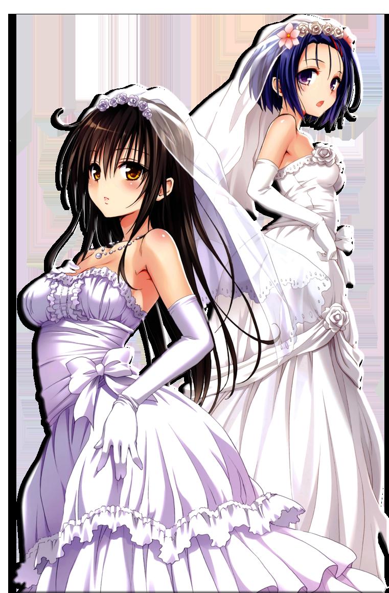 Wedding Dresses Anime Girls by Hendrix7733 on DeviantArt