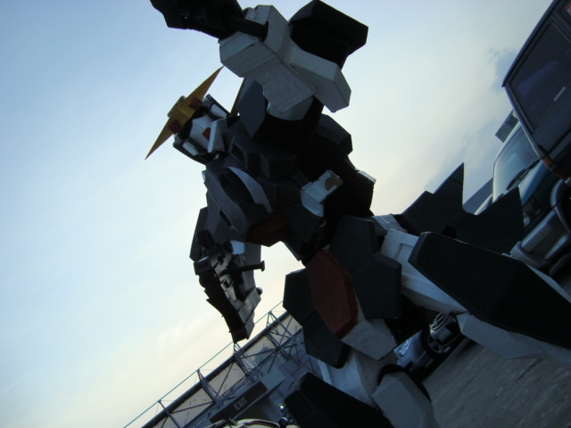 Gundam Dynames Last Sortie by destinyarchon