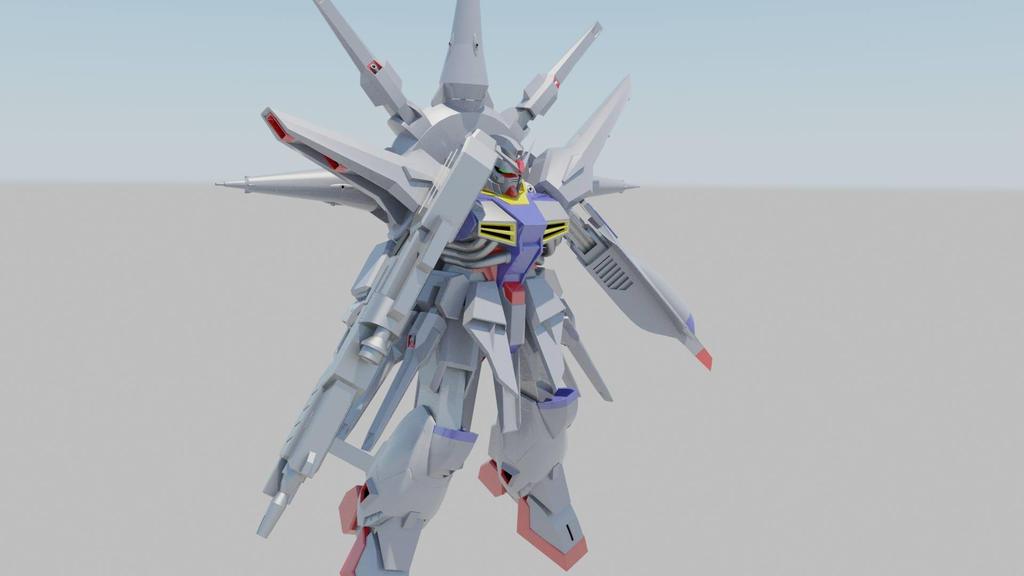 ZGMF-X13A Providence Gundam by destinyarchon