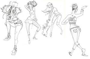 sketchbook by brainleakage