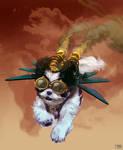 Georgette: Steampunk Rocketeer