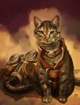 Zatanna: Steampunk Kitty