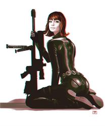 Black Widow by brainleakage