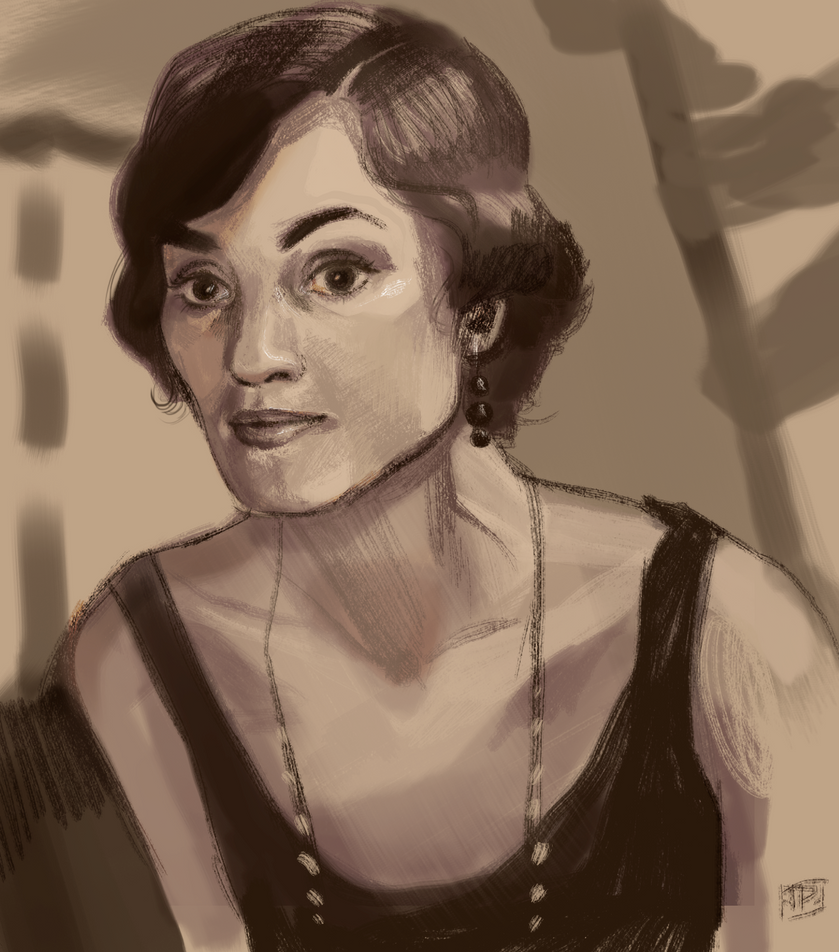 Downton Speed Paint by brainleakage