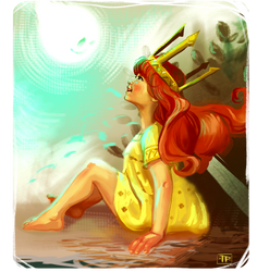 Aurora: Child of Light - Speed Paint