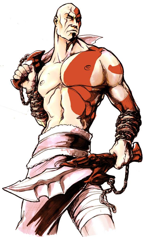 solo para joder xD Kratos_by_brainleakage
