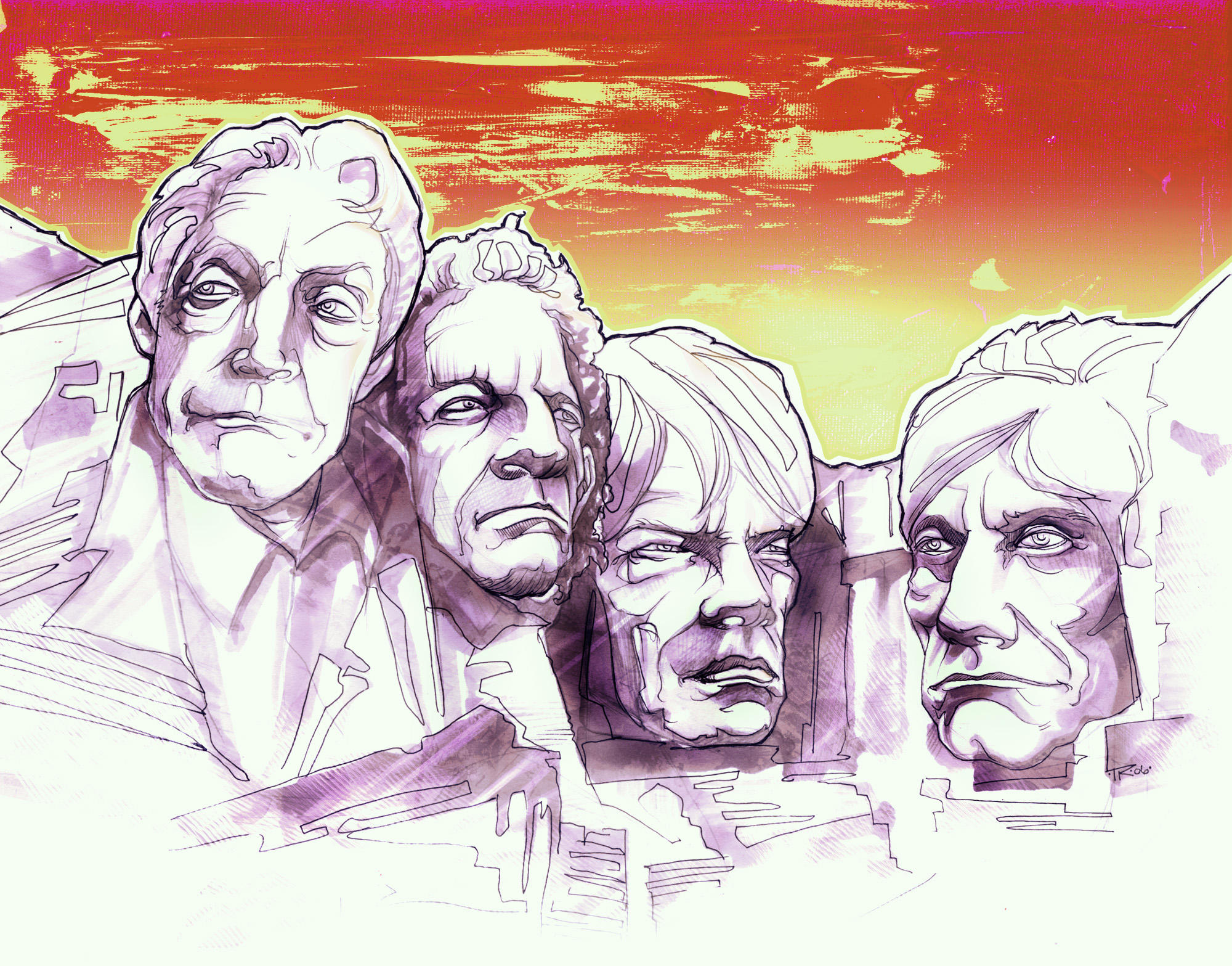 the rolling stones by brainleakage