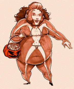 Halloween's Next Top Model