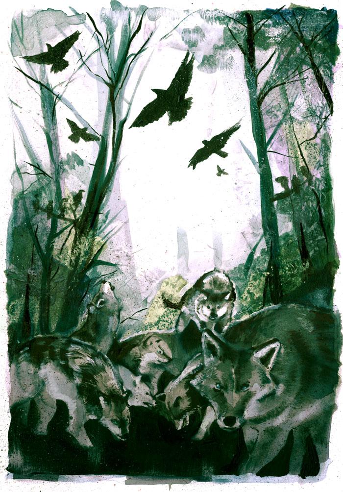 norse mythology by brainleakage