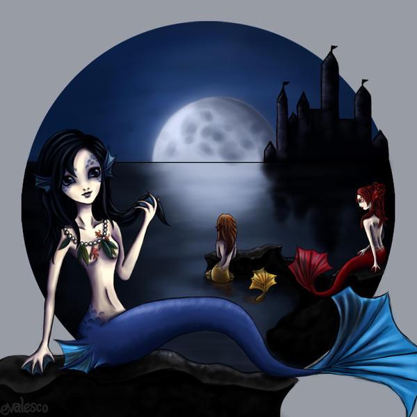 Mermaids by evalesco5