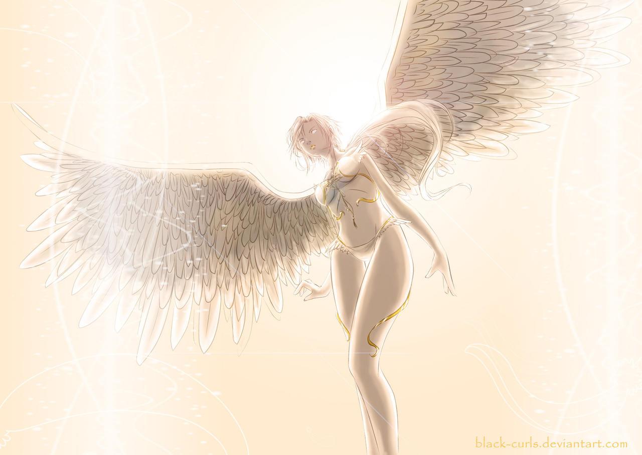 Guardian Angel by Black-Curls