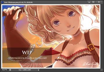 Nuname Illustration WIP by Black-Curls