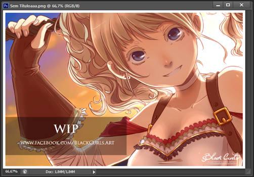 Nuname Illustration WIP