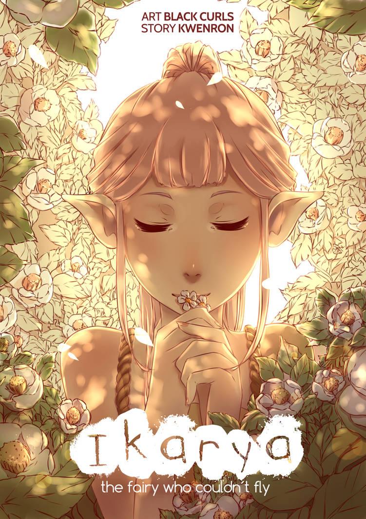 Ikarya (Manga Cover) by Black-Curls