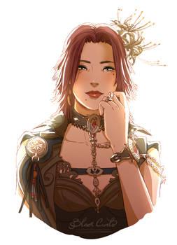 Commission FFXIV Scarlett Lunarys