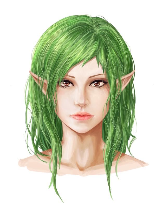 WIP Green by Amanduur