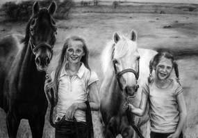 commission girls and their horses