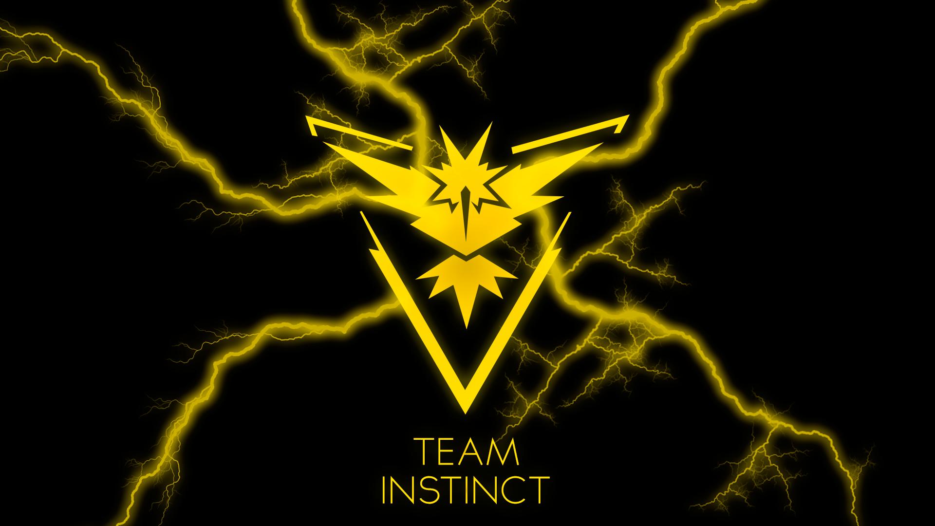 Team Instinct Wallpaper Pokemon Go: Wallpaper Full HD PokemonGO #TeamInstinct By Infzz On